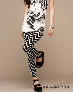 Chevron Leggings