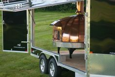 Enclosed mobile oven trailer -- ONE OF A KIND!