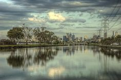 Melbourne on the Maribyrnong