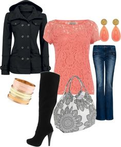 Love the peach color for fall