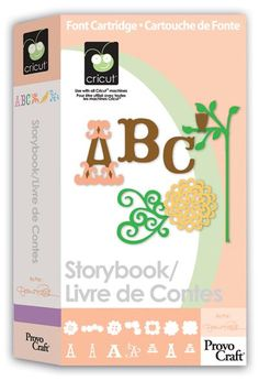 cricut shop, nice font, storybook cartridg, ebay, cricut craft, fonts, cricut storybook, cards, cricut cartridg