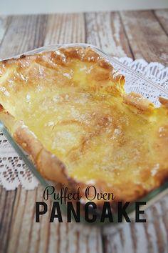 Puffed Oven Pancake - eighteen25