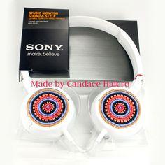 Beaded Headphones