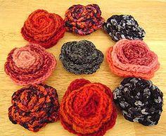 Cómo hacer rosas a ganchillo | eHow en Español