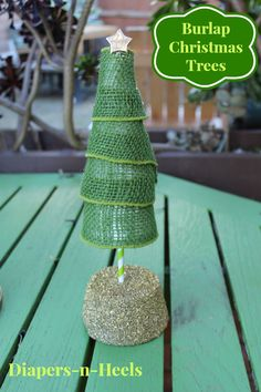burlap-trees #TBCcrafters