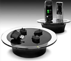 The Messless Gadgets Kit. It is a glass disk that is able to charge your other gadgets such as MP3 / MP4 players, digital cameras, and cell phones. And you are not limited to charge one gadget at a time. In fact, you can charge up to 4 different gadgets simultaneously.