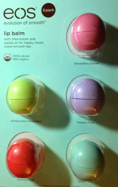 Easter basket ideas for older kids--your teen girl will love fruity eos lip balm for about $3 each in her basket!!  http://www.unitedstatesofmotherhood.com/2014/04/easter-basket-ideas-for-teen-girls-that.html #Easter #Easterbasket #Easterteens #teens