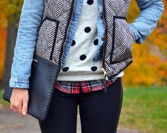 Layers. #winter #fashion #layers