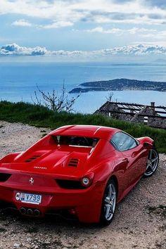 Ferrari 458 Italia. Try & keep up!