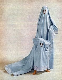 ghost costume HAHA!!!