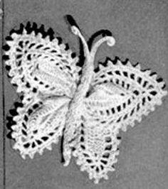 Vintage Butterfly | Free Crochet Pattern