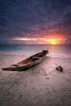 Sunset in Zanzibar, Tanzania, Africa