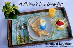 Treat mom to a lovely breakfast for Mother's Day.!