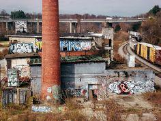 abandoned asheville ice factory