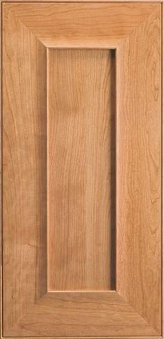 Cherry kitchen cabinet doors on pinterest for Butternut kitchen cabinets