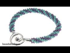 How to Braid Beaded Kumihimo and Make a Bracelet