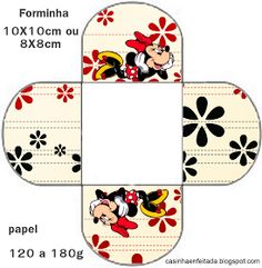 Kit Festa Minnie Vermelha Para Imprimir Grátis Minnie boxes free