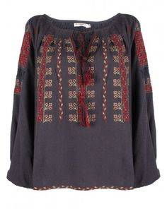 Felix Embroidered Blouse by Mes Demoiselles