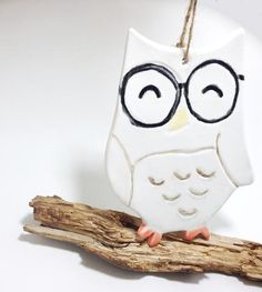 Adorable owl ornament