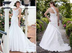 Pretty! wedding dressses, ruffl, gown