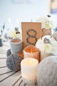 winter wedding - brides of adelaide magazine - table number