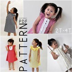 Dress Pattern charissa dress, dress patterns, spring dresses, simpl dress, kid