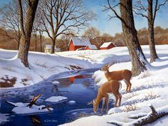 Winter Morning by John Sloane