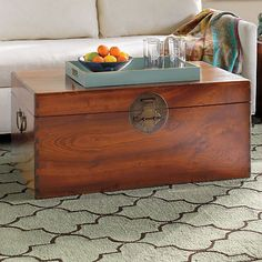 Camphor Wood Chest - Gumps