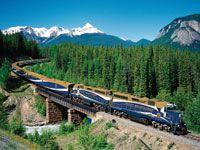 Ultimate vacation: Train ride through the Canadian Rockies.   #CDNGetaway