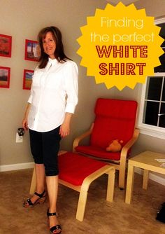 The Perfect White Shirt (for all the ladies). Yep. I've got it on the blog today.