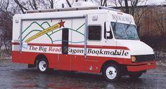 The Big Read Wagon, Goodrich, Vermont.