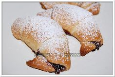 Easy Chocolate Swirl Crescent Rolls #recipes