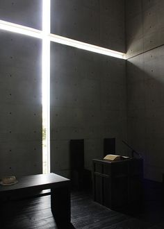 Church of the light by Tadao ANDO, Japan