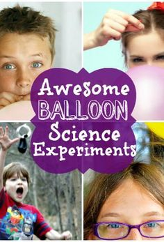 Simple science learning experiences with balloons