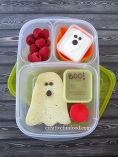 Simple Halloween Ghostly Lunch Ideas!
