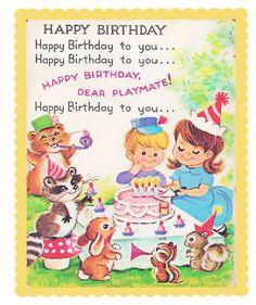 birthday card, digit imag, vintag card, kid birthday, free digit, birthdaypicn free