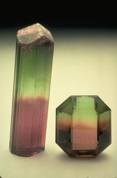 Elbaite (C6648) from the National Mineral Collection mineral, crystal