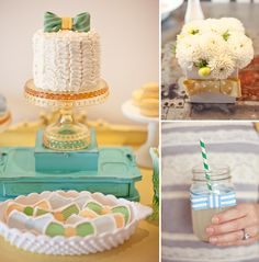 Bow Tie baby shower for Jesi Haack's little man via HWTM