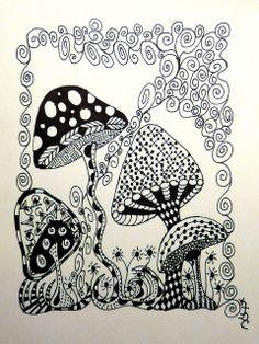 Doodle shrooms
