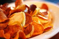 Raise a Green Dog!: Homemade Sweet Potato Chips for dogs and dog lovers!