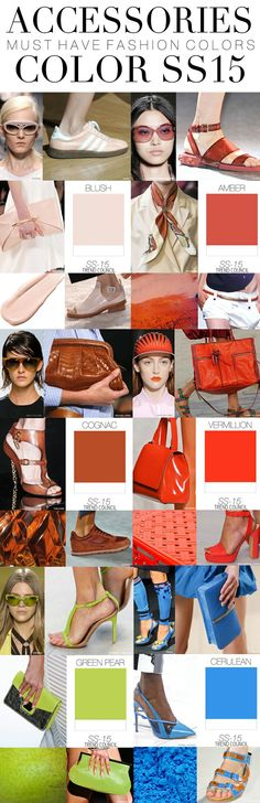 Color trends 2015 ss2015, colors 2015 spring, accessories 2015, accessories trends 2015, fashion accessories, ss 2015, color trends 2015, color trend 2015, trend council ss15