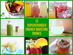 12 Supercharged Energy Boosting Drinks | DIYSelfies