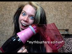AIR CURLER- I laughed so much...you have to watch the WHOLE thing! Hahahaha love Bunny!!!