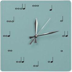 decor, idea, craft, futur, cool clocks, stuff, music clock, telling time, awesom
