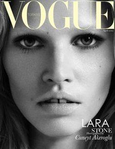 Fabulous Lara Stone in Vogue Turkey April 2012