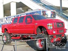 Sema 2008 Custom Truck Show Lifted Ford Truck