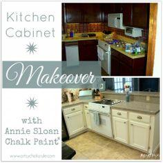 Kitchen Makeover Reveal {Annie Sloan Chalk Paint}