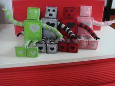 Robots out of felt!