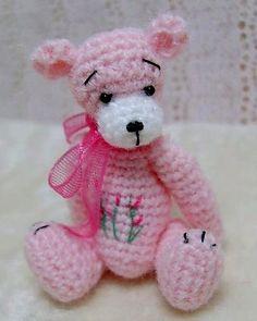 crochet teddy bears on Pinterest Crochet Bear, Crochet ...
