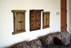 old doors rustic decorating